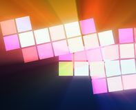 Abstract squares Stock Photo