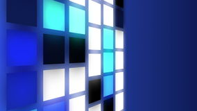 Abstract squares animation, flying squares motion background royalty free illustration