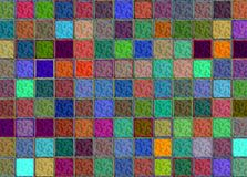 Abstract squares background Royalty Free Stock Photos