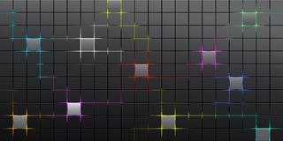 Abstract squares background Royalty Free Stock Images