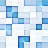 Abstract squares background. With place for your text Royalty Free Stock Images
