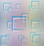 Abstract squares background template Royalty Free Stock Photography