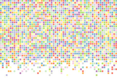 Abstract squares background. Vector background. Stock Photos