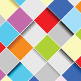 Abstract squares background vector illustration. Abstract squares background art vector illustration color Royalty Free Stock Image