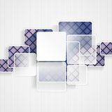 Abstract Squares Background Stock Images
