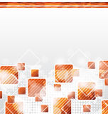 Abstract Squares Blank Background Stock Images