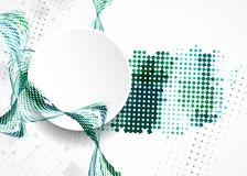 Abstract squares business vector background Royalty Free Stock Photos