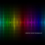 Abstract squares equalizer background. Vector Stock Images