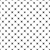 Abstract squares geometric seamless pattern. Abstract geometric seamless pattern. Black and white style pattern. Vector illustration Stock Photography