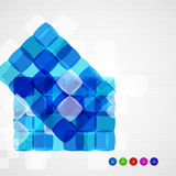 Abstract squares geometrical modern template. Abstract squares geometrical vector modern template stock illustration