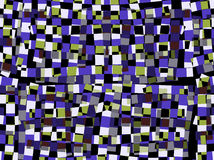 Abstract Squares Illustration Royalty Free Stock Images