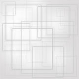 Abstract squares layer Stock Image