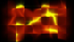Abstract squares and light effect stock video footage