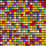 Abstract squares mosaic background Stock Photos
