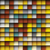 Abstract squares mosaic background Royalty Free Stock Photography