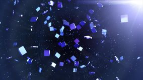 Abstract Squares Motion Background