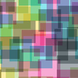 Abstract squares pattern. Stock Photography