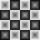 Abstract squares seamless pattern. Vector format added Royalty Free Stock Images