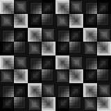 Abstract squares seamless pattern. Vector format added Stock Photo