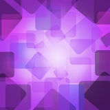 Abstract squares shapes layered in random pattern  Royalty Free Stock Photo