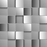 Abstract squares tech design Royalty Free Stock Photo