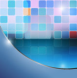 Abstract squares. Vector abstract background,eps10 ,  transparency used Stock Image