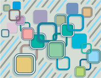 Abstract Squares Vector illustration Stock Photography