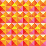 Abstract squares warm pattern design Stock Photos