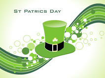 Abstract st patric hat Royalty Free Stock Images