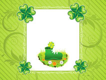 Abstract st patrick background Royalty Free Stock Photography