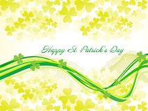 Abstract st patrick background Royalty Free Stock Photos