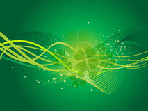 Abstract st patrick background Stock Photo