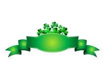 Abstract st patrick banner Stock Images