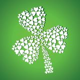 Abstract st patrick day Royalty Free Stock Images