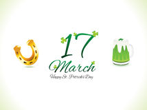 Abstract st patrick day background Royalty Free Stock Photo