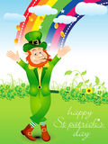 Abstract st patrick day background Royalty Free Stock Image