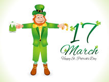 Abstract st patrick day background Stock Photos