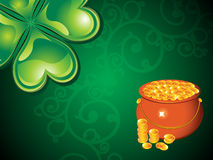 Abstract st patrick day background Royalty Free Stock Images