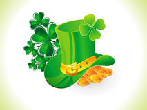 Abstract st patrick hat Stock Photos