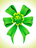 Abstract st patrick ribbon Royalty Free Stock Photo