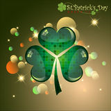 Abstract of St.Patrick's Day. Royalty Free Stock Images