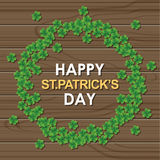 Abstract of St.Patrick's Day. Graphic Template and Background. Illustration, EPS 10 Vector Illustration