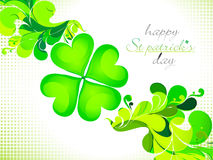 Abstract st patrick theme background Stock Photography
