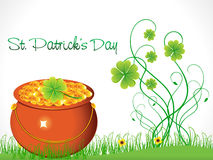 Abstract st patricks background Royalty Free Stock Photos
