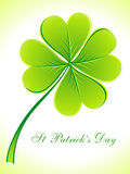 Abstract st patricks day card Stock Photo