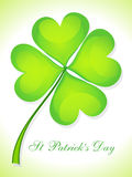 Abstract st patricks day card Stock Photos