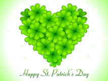 Abstract st patricks day card Royalty Free Stock Image