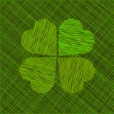 Abstract St. Patricks day vector illustration Stock Photography