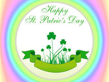 Abstract st patrics Stock Photo