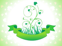 Abstract st patrics floral Royalty Free Stock Photography
